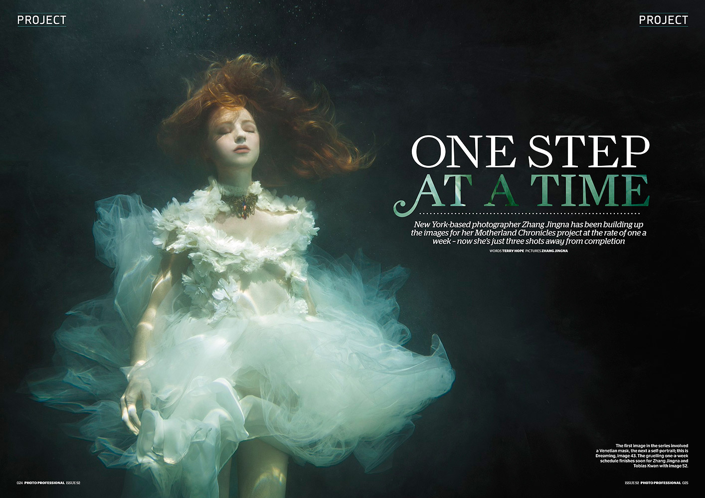 """""""One Step At A Time"""",  Photo Professional , Apr 2014, Cover, Pages 24-29"""