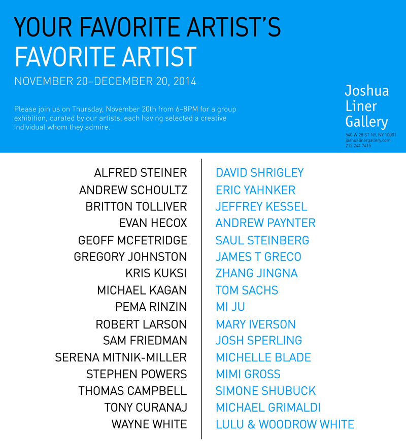 Your-Favorite-Artist's-Favorite-Artist-Joshua-Liner-Gallery-Nov-2014.jpg