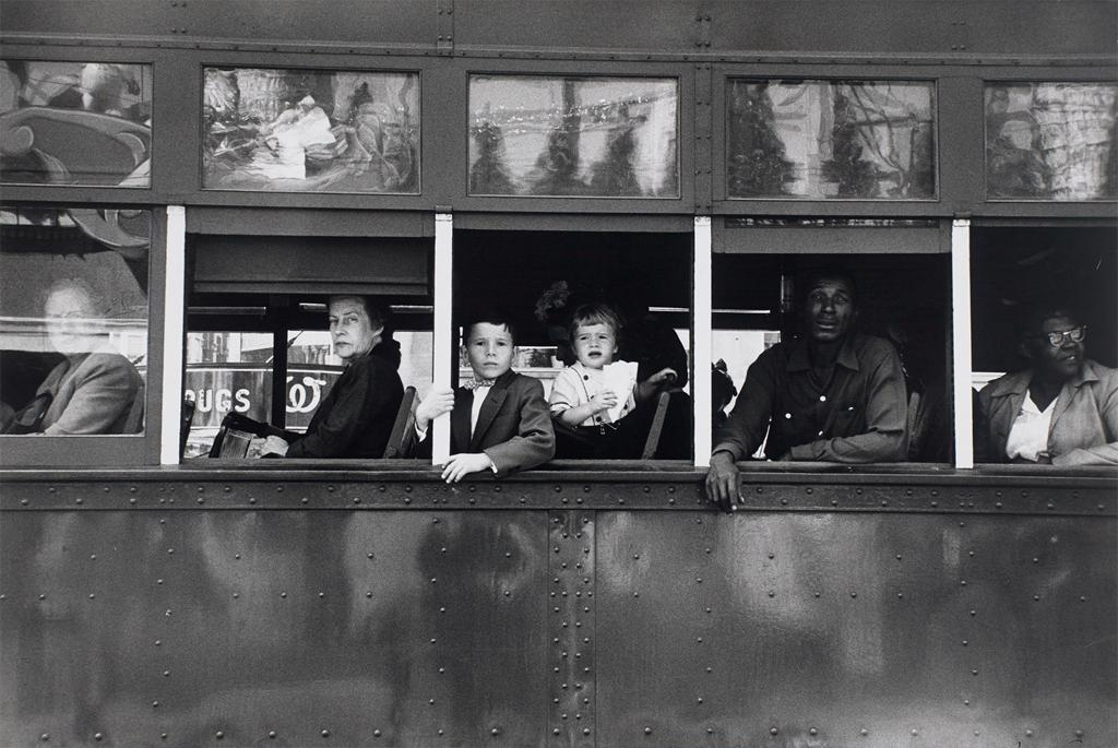 """Trolley, New Orleans"" 1955"