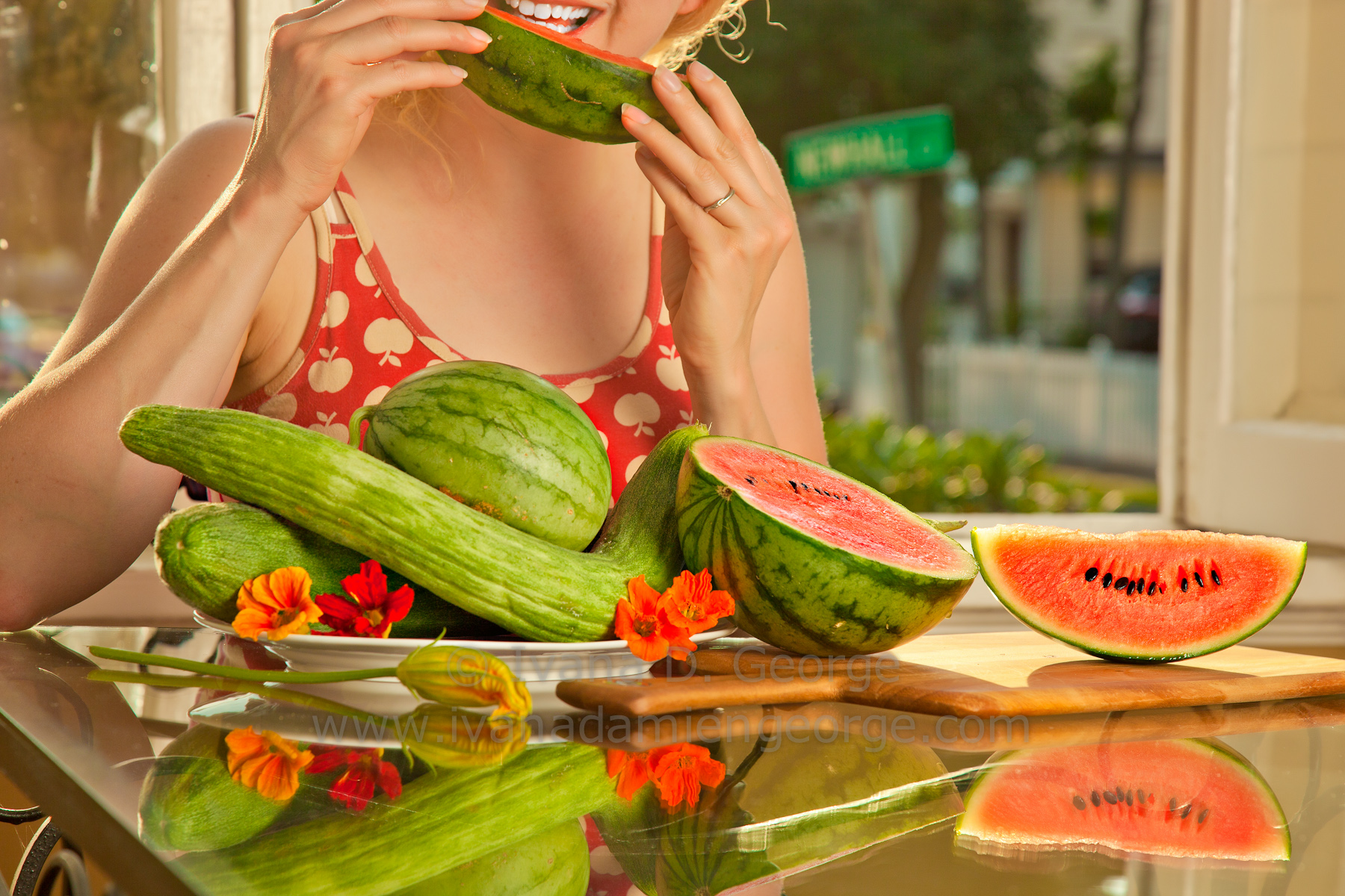 The Joy of Sugar Baby Melons in August