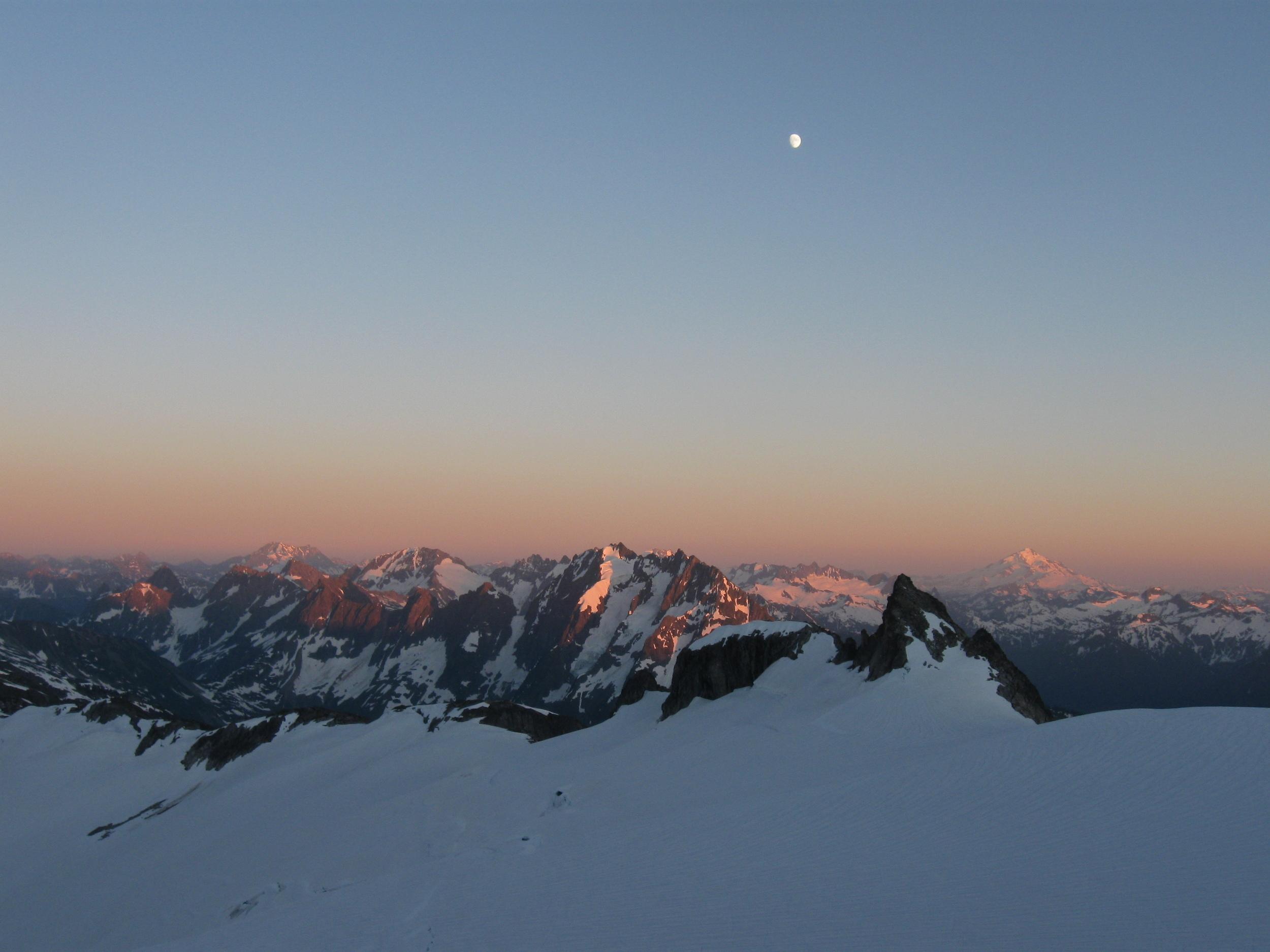North Cascades, WA from Eldorado Glacier