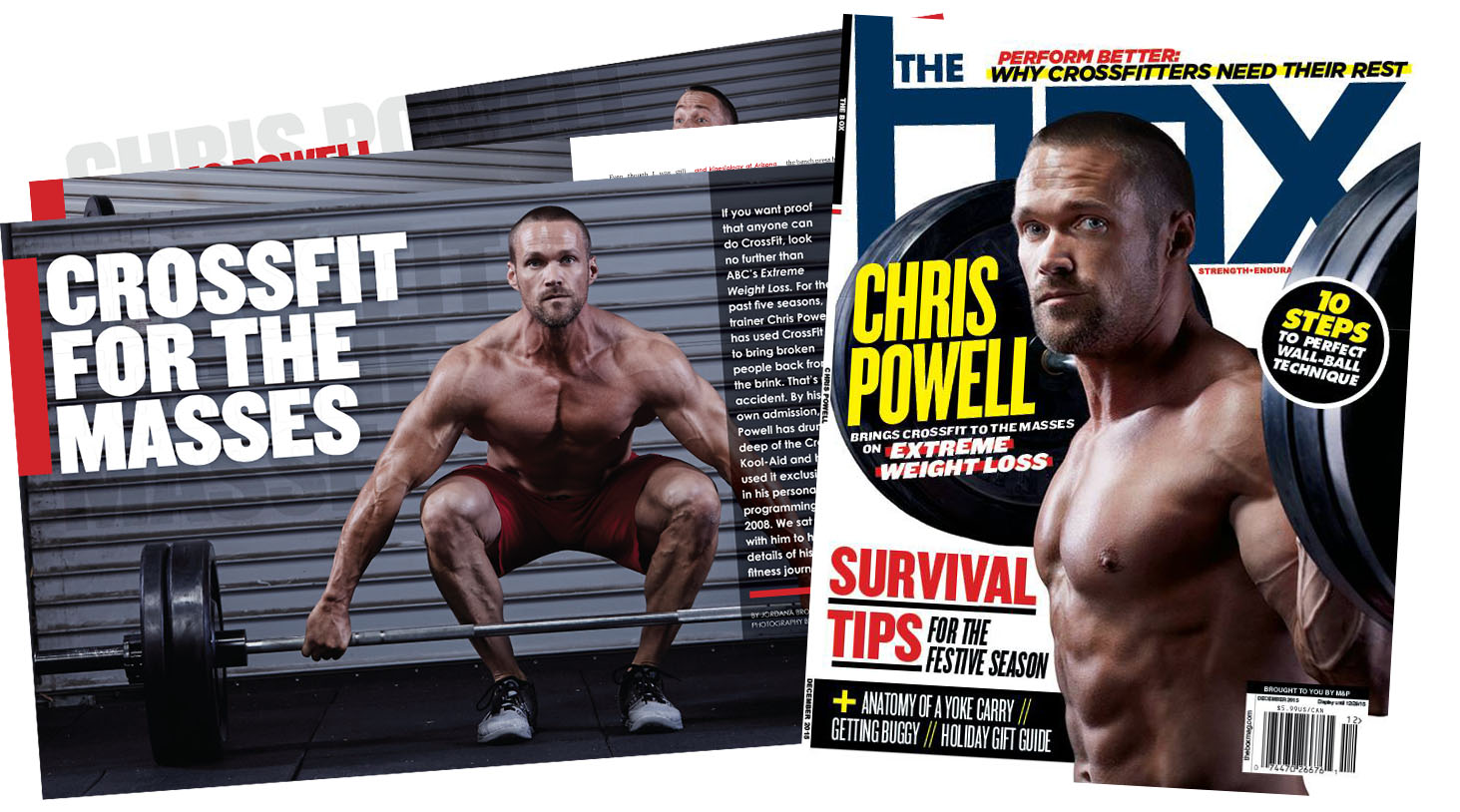 """Chris Powell """"The Box"""" Cover Feature"""