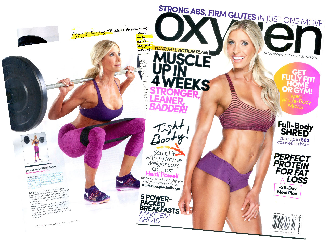 """Heidi Powell """"Oxygen"""" Cover Feature"""