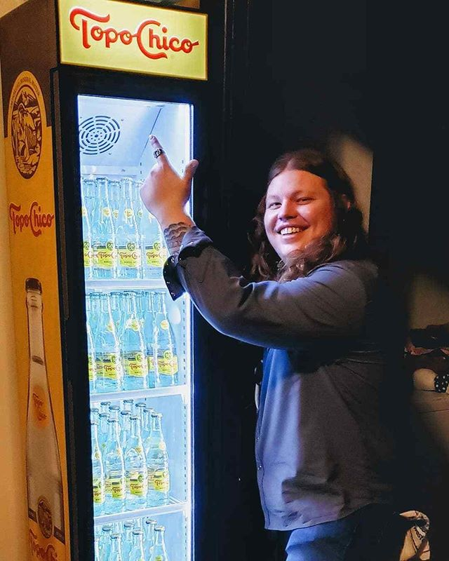 #repost @realmarcusking BIG thanks to our friends @topochicousa for the house warming gift of HYDRATION 📷@salty_gypsea #topochico #nashville #ohhappyday