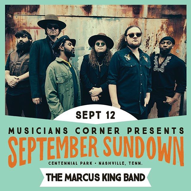 YALL, @americanafest is around the corner and we're excited to play @muscornernash's #SeptemberSundown! Catch us at Centennial Park September 12 for a FREE outdoor show!
