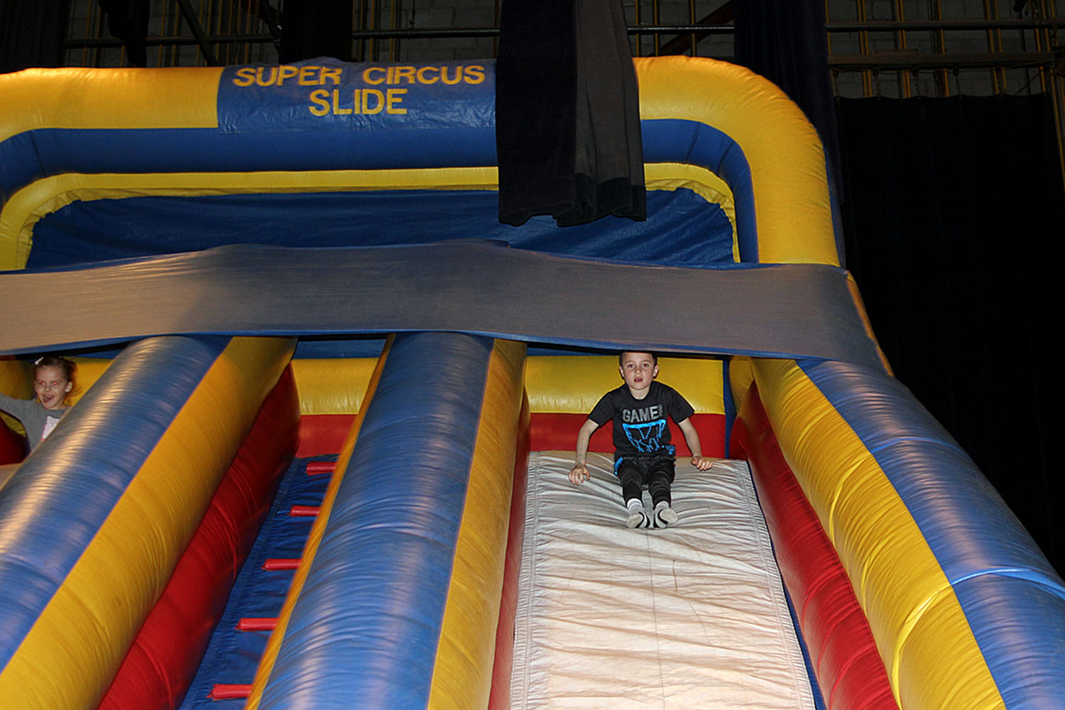 The Giant Slide and Bounce House: Both are always a hit with the younger crowd.