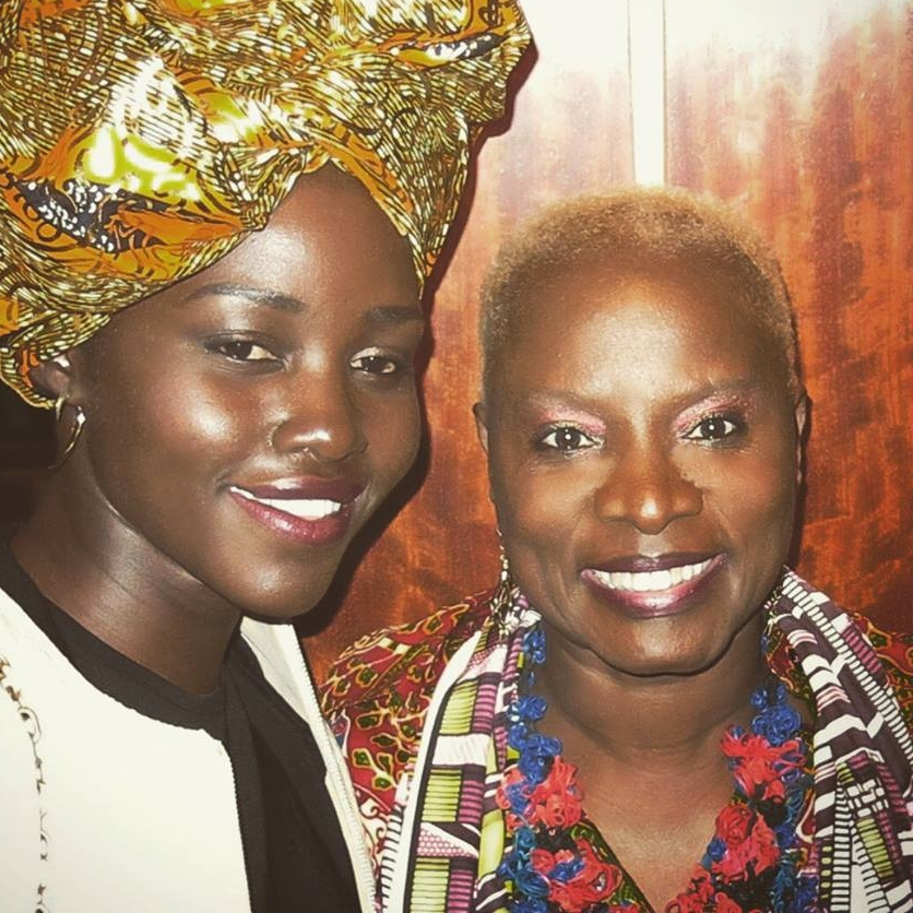 Backstage at Carnegie Hall with Lupita Nyong'o