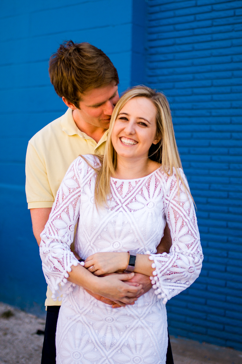 Engagment photos in Kansas City west bottoms engagment photography