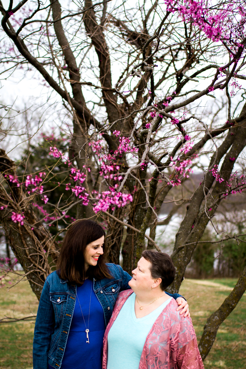 Rebecca Clair Photography Kansas City MO lifestyle photographer CURE magazine Extraordinary Healers nurse and patient cancer survivor at Lake Jacomo