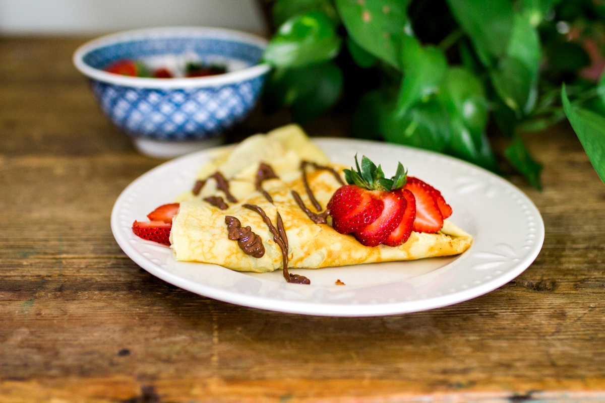 Kansas City small business lifestyle photography food styling seven swans creperie gourmet crepe