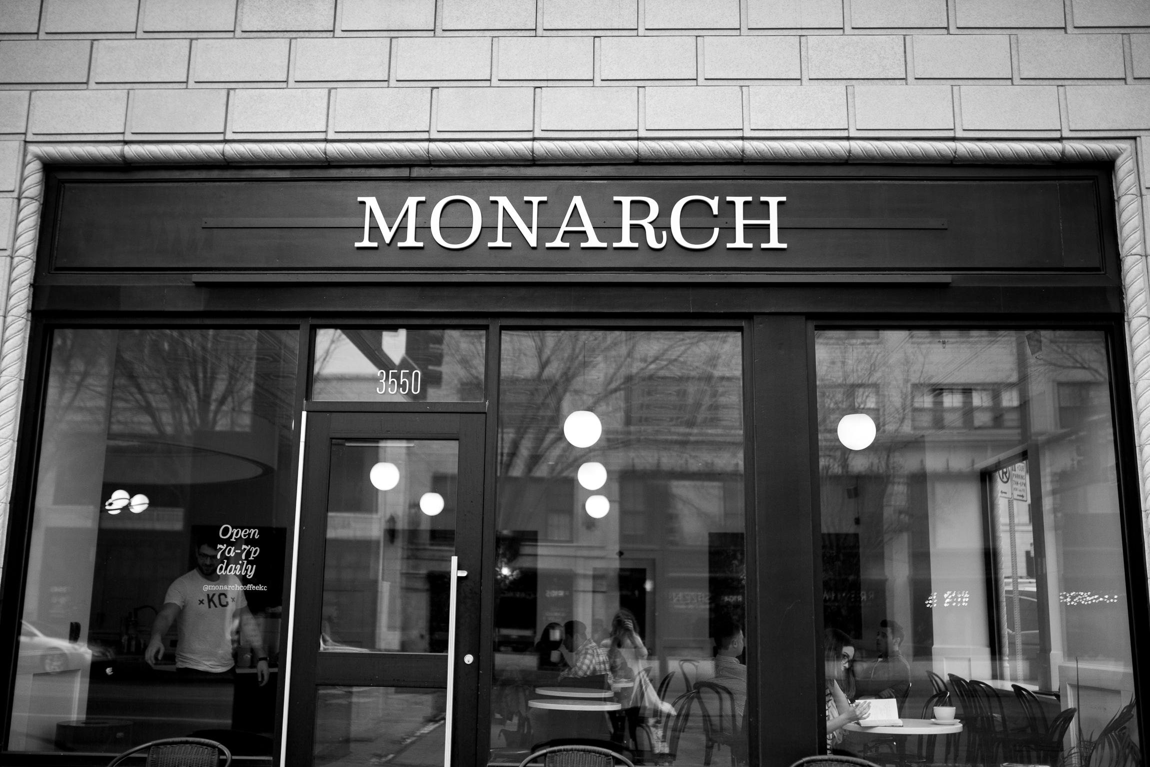 Coffee shop, Kansas City lifestyle photographer, Kansas City senior photographer, Kansas City small business headshots, Kansas City lifestyle blogger, candid portrait, winter portrait session, Monarch Coffee