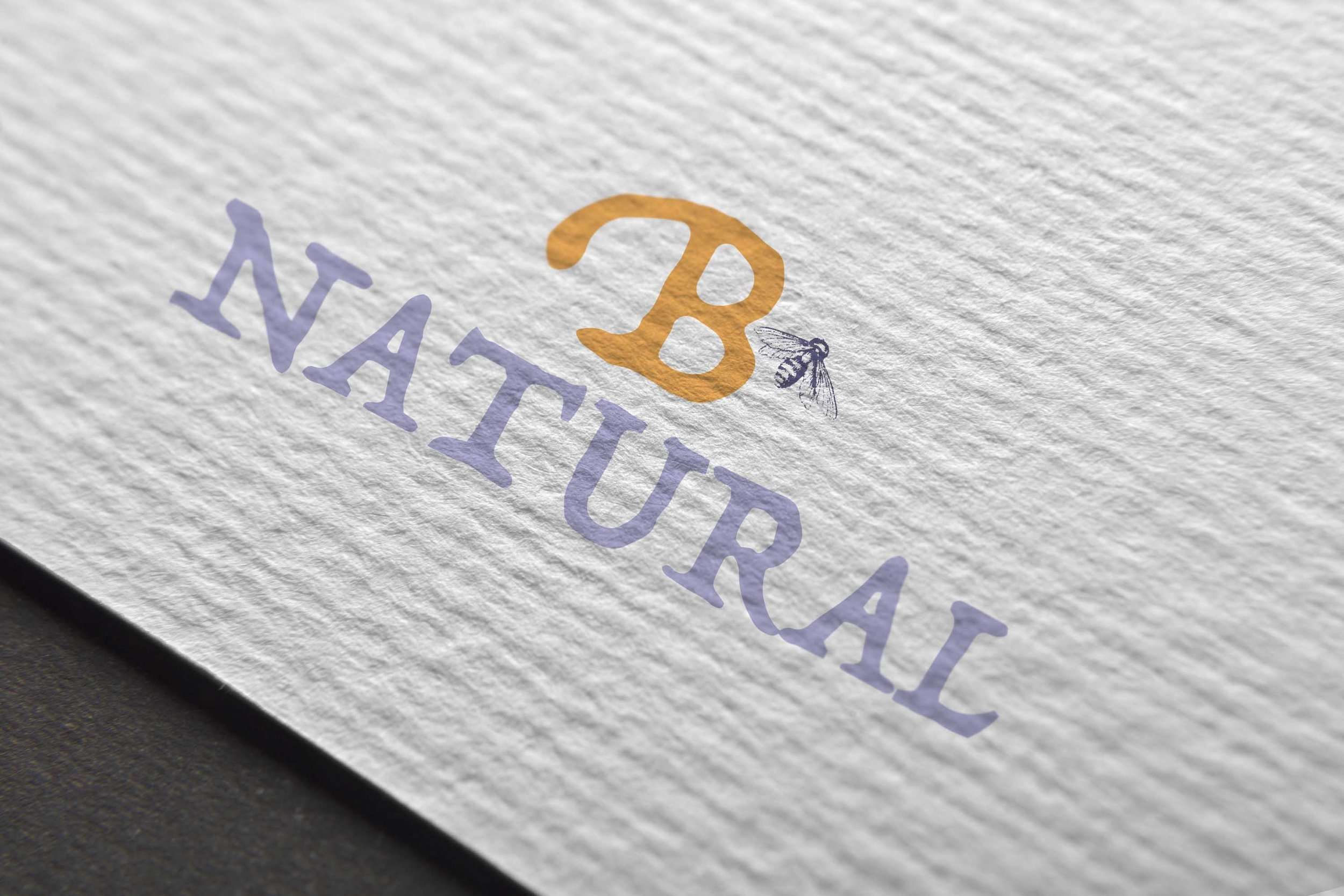Bee Natural Logo Design