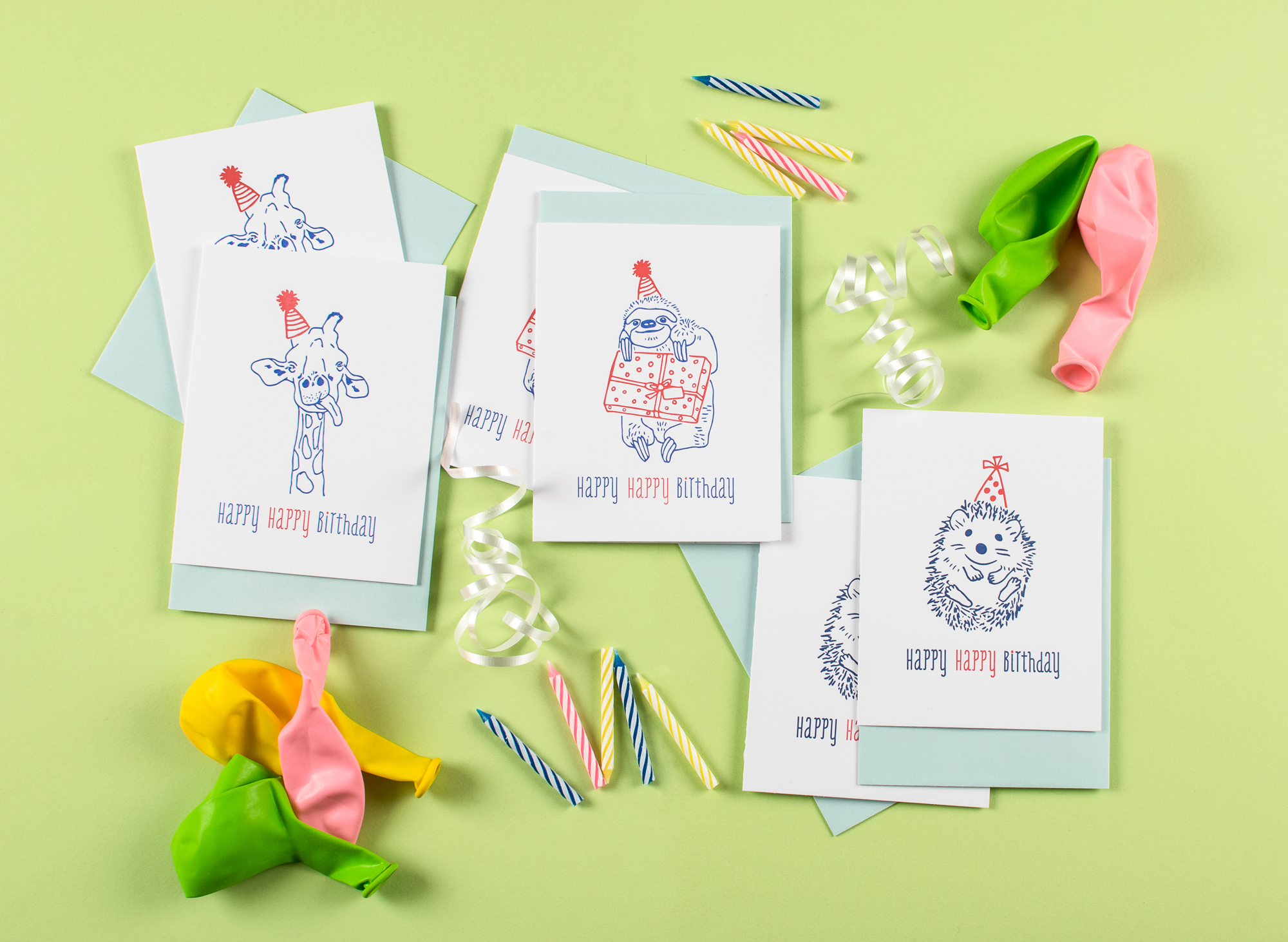 Harken Press : illustration, letterpress greeting cards