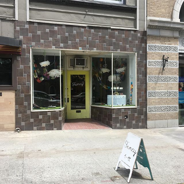 Look ma! No scaffolding!!! My store is now cage free!! #belltown #downtownseattle #construction #impeachtrump #shoplocal