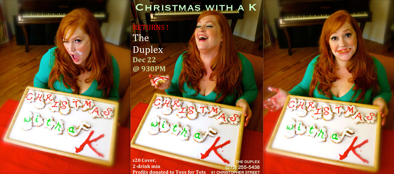 Katie Thompson Christmas with a K Poster