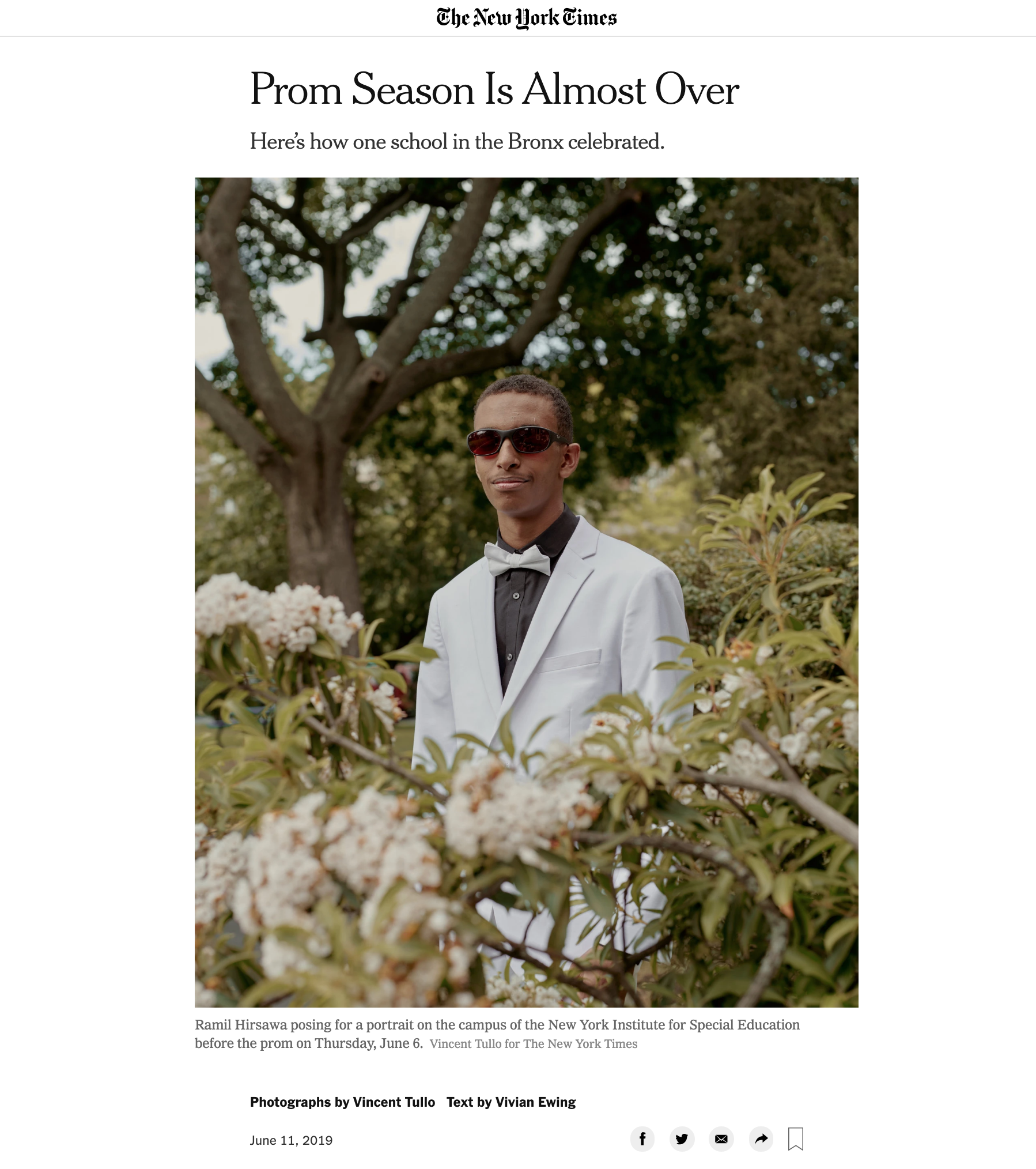 Prom Season Is Almost Over - The New York Times