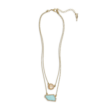 Click on the necklace to go to Tracys Candi to purchase! Sand + Sky Convertible Pendant Necklace is listed under Jacqueline's Picks!