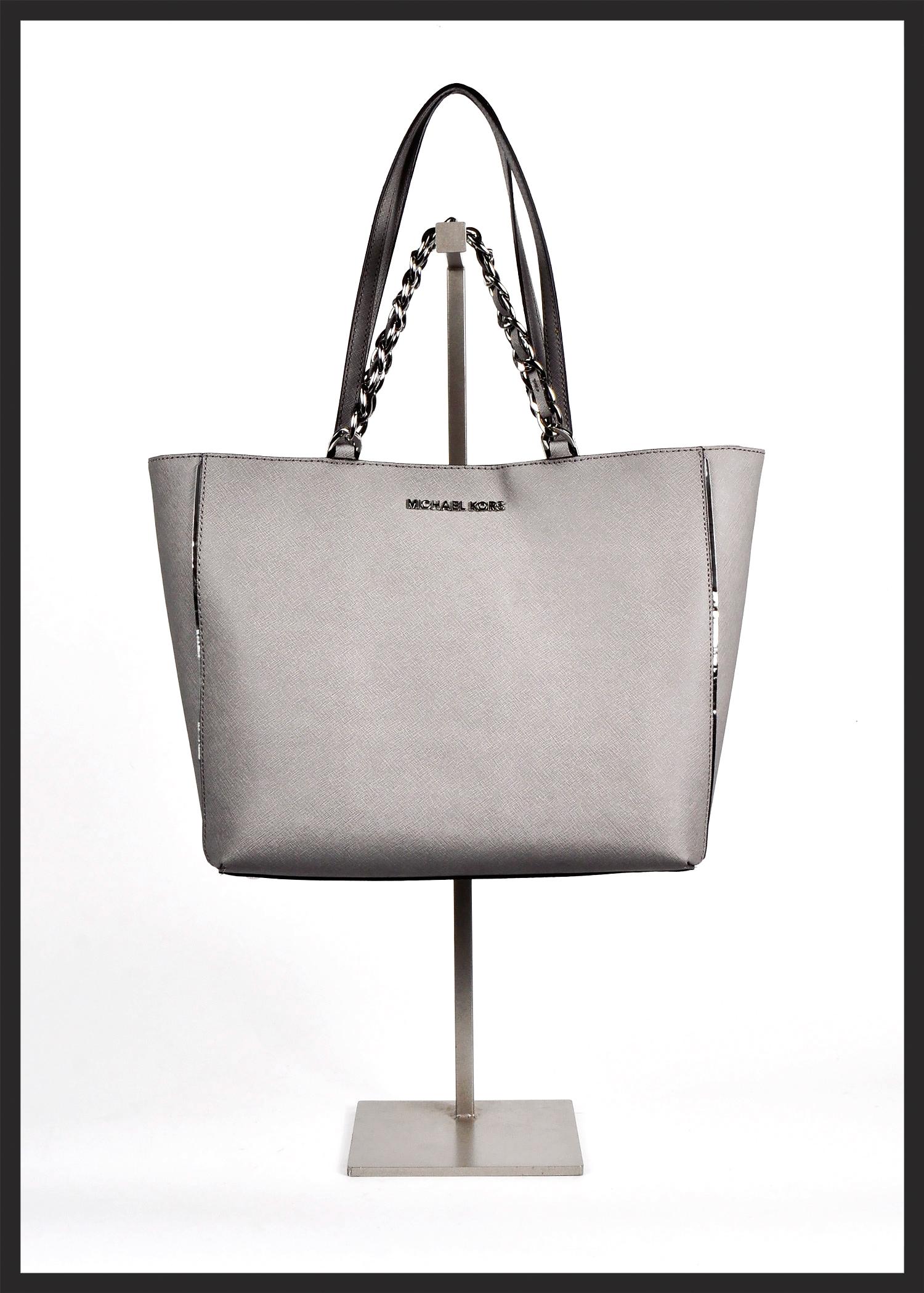 Silvery Sleek Michael Kors Bag