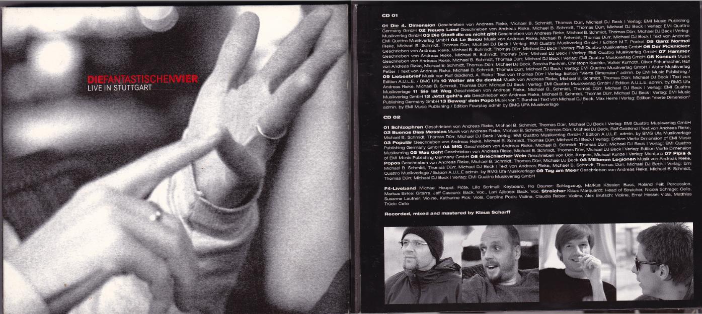 2004: DIE FANTASTISCHEN VIER / LIVE IN STUTTGART