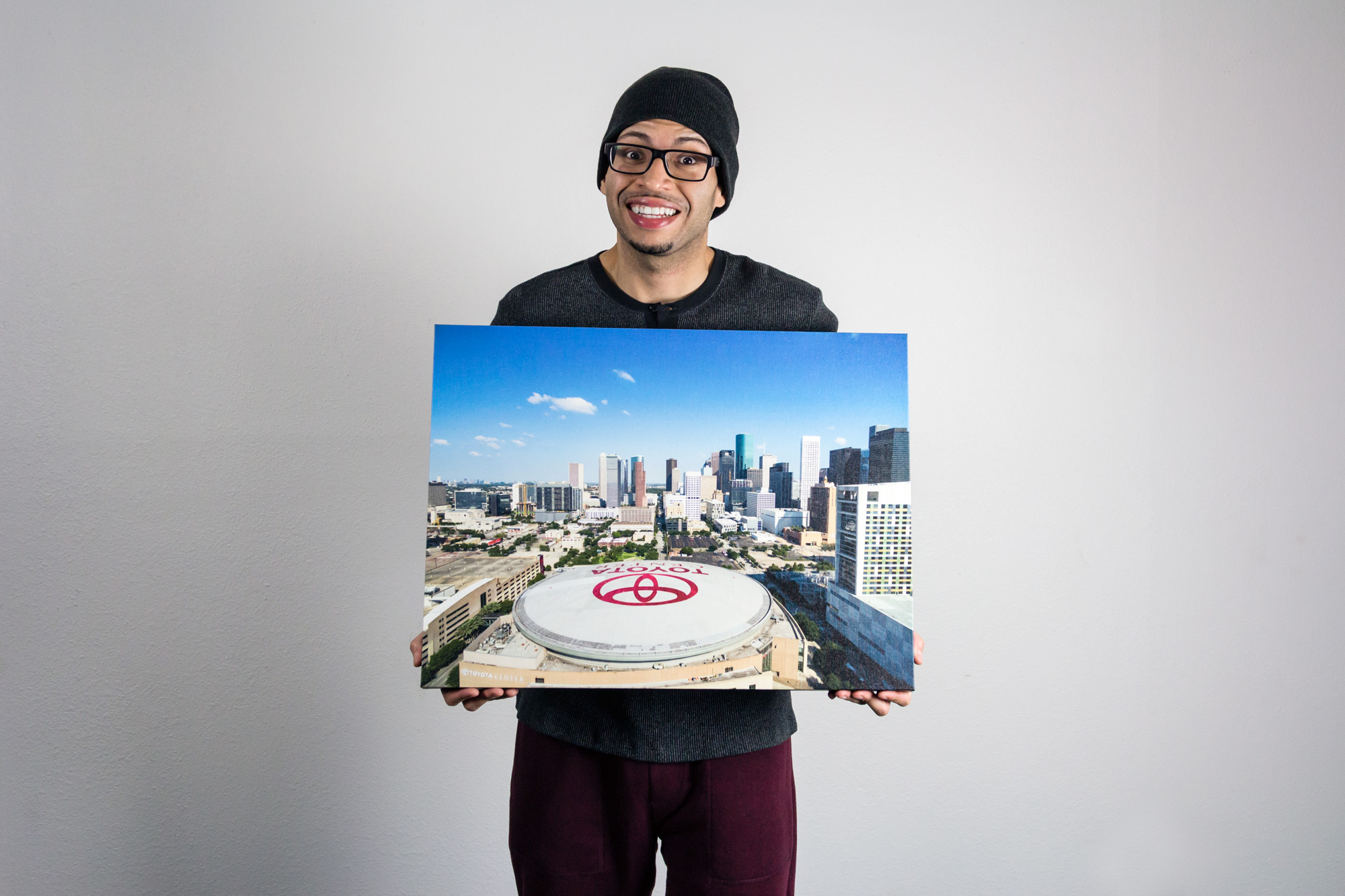 Toyota Center - Canvas Print