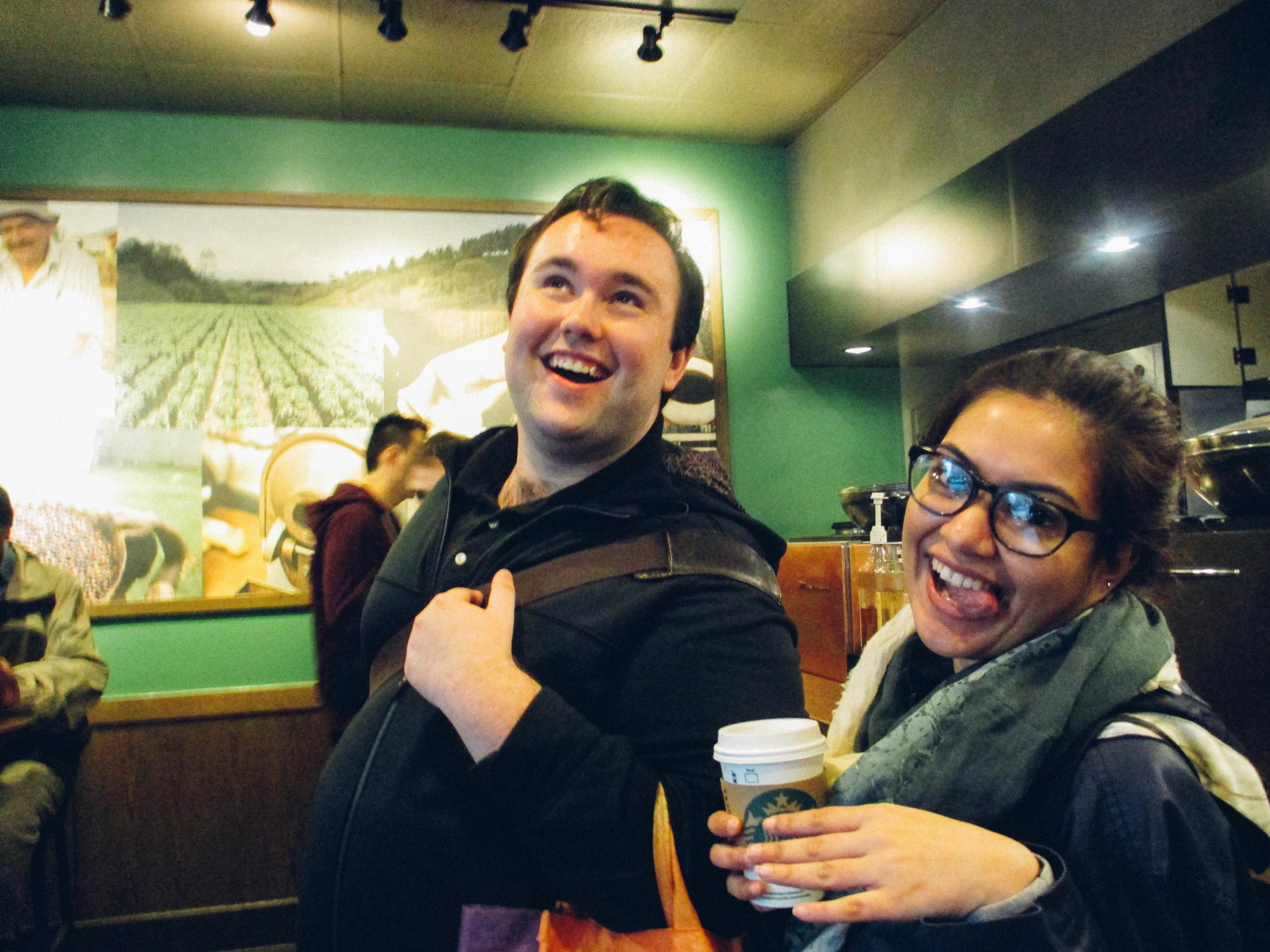 Starbucks shenanigans.
