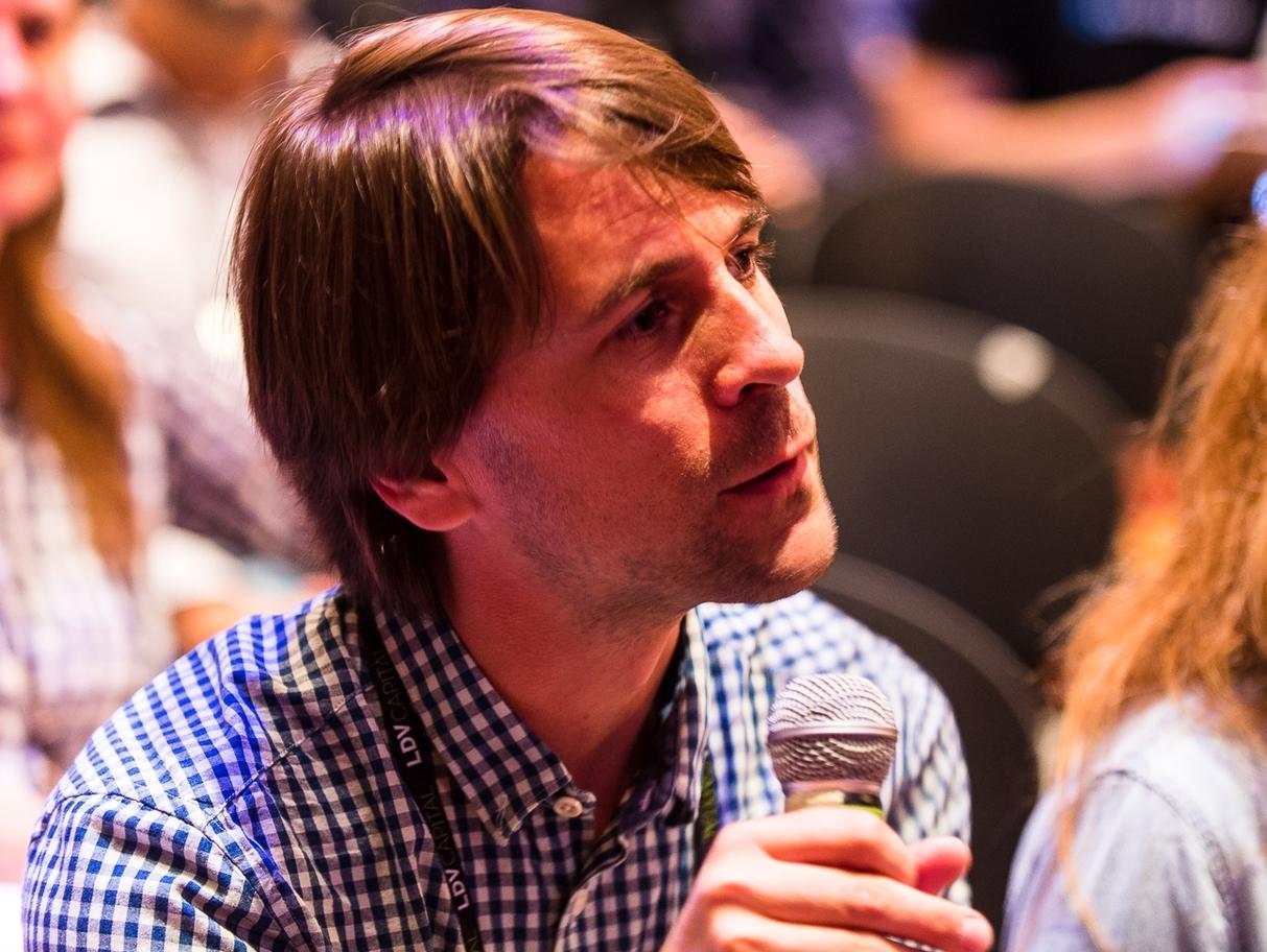 Jan Erik Solem, CEO & Founder, Mapillary © Dan Taylor