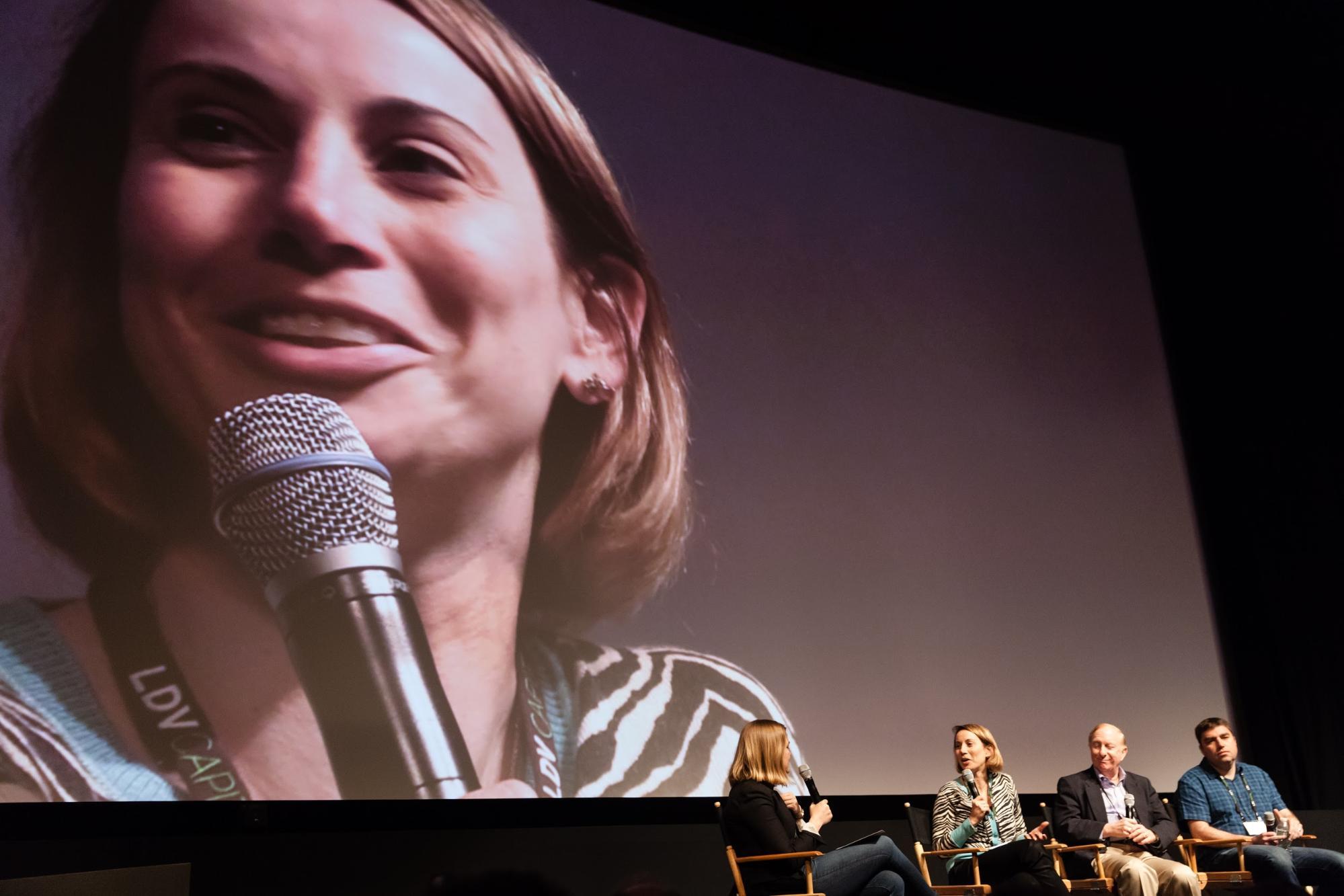 (Speaking) Liza Benson, Partner at StarVest Capital Partners © Robert Wright/LDV Vision Summit