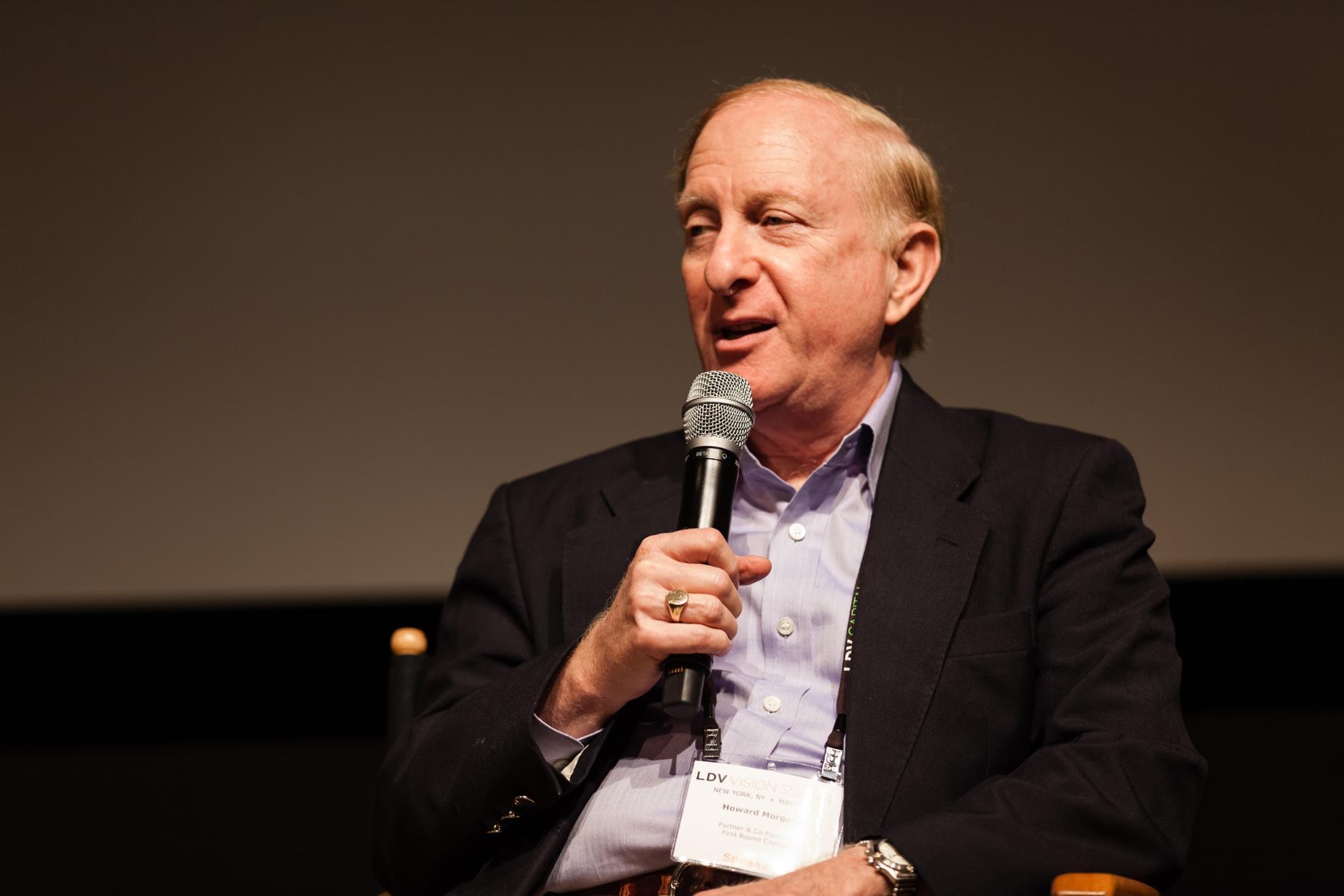 Howard Morgan, Partner & Co-founder of First Round Capital © Robert Wright/LDV Vision Summit