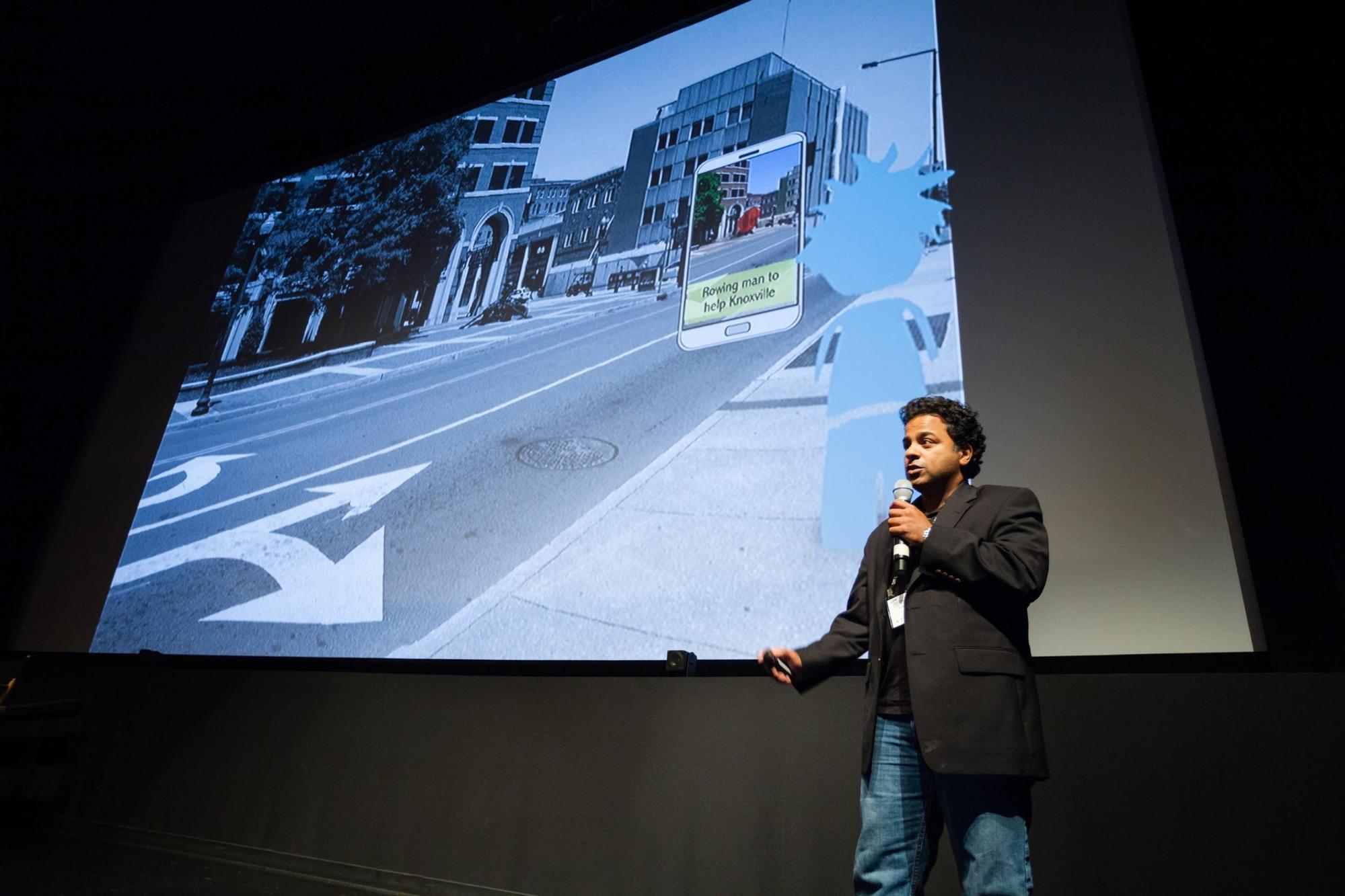 Anil Cheriyadat, Founder and CEO of Sturfee © Robert Wright/LDV Vision Summit