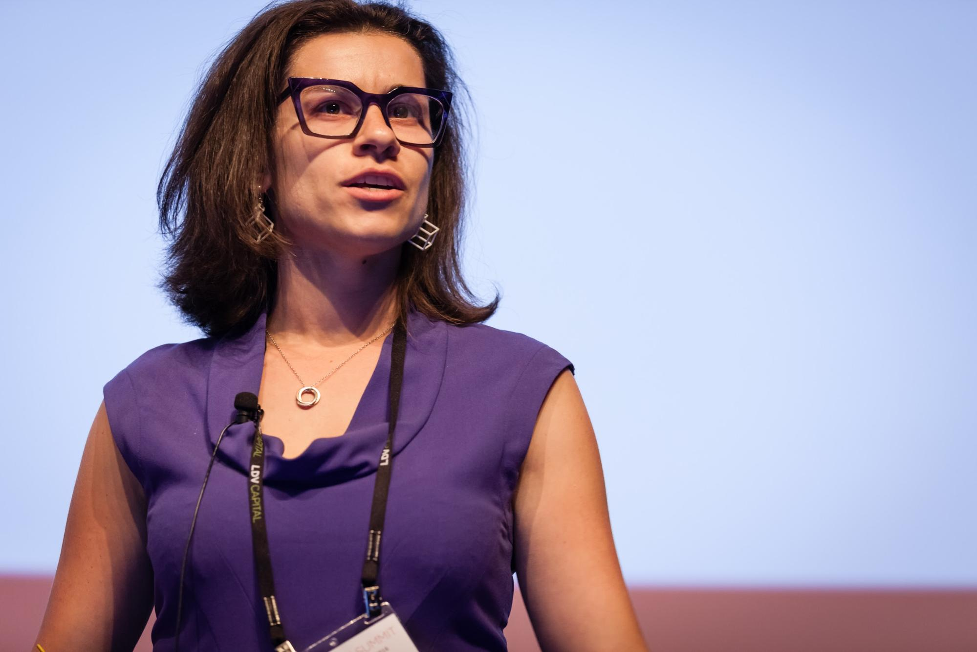 Anastasia Leng, CEO of Picasso Labs © Robert Wright/LDV Vision Summit