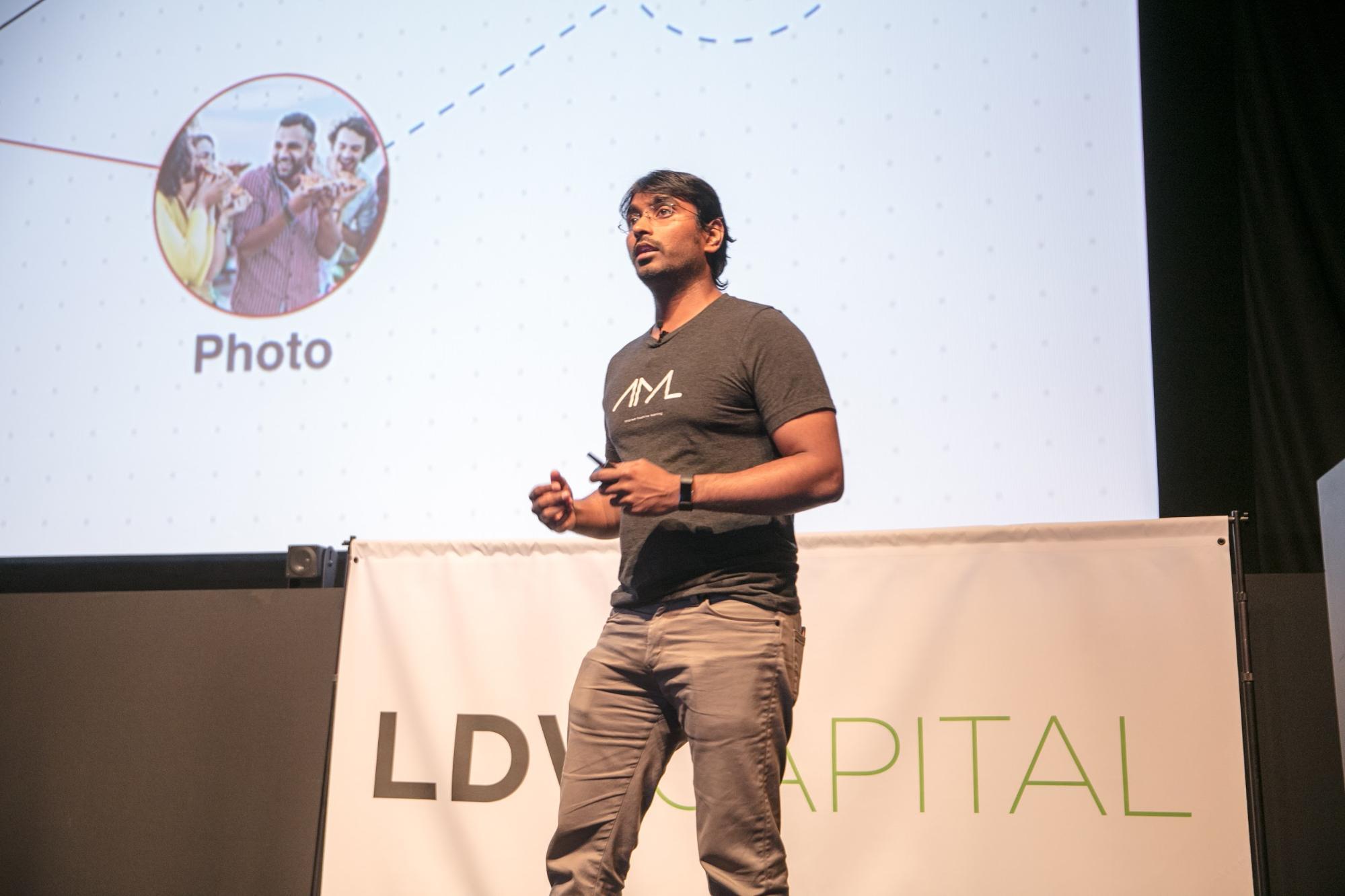 Manohar Paluri, Manager of Computer Vision Group at Facebook ©Robert Wright/LDV Vision Summit