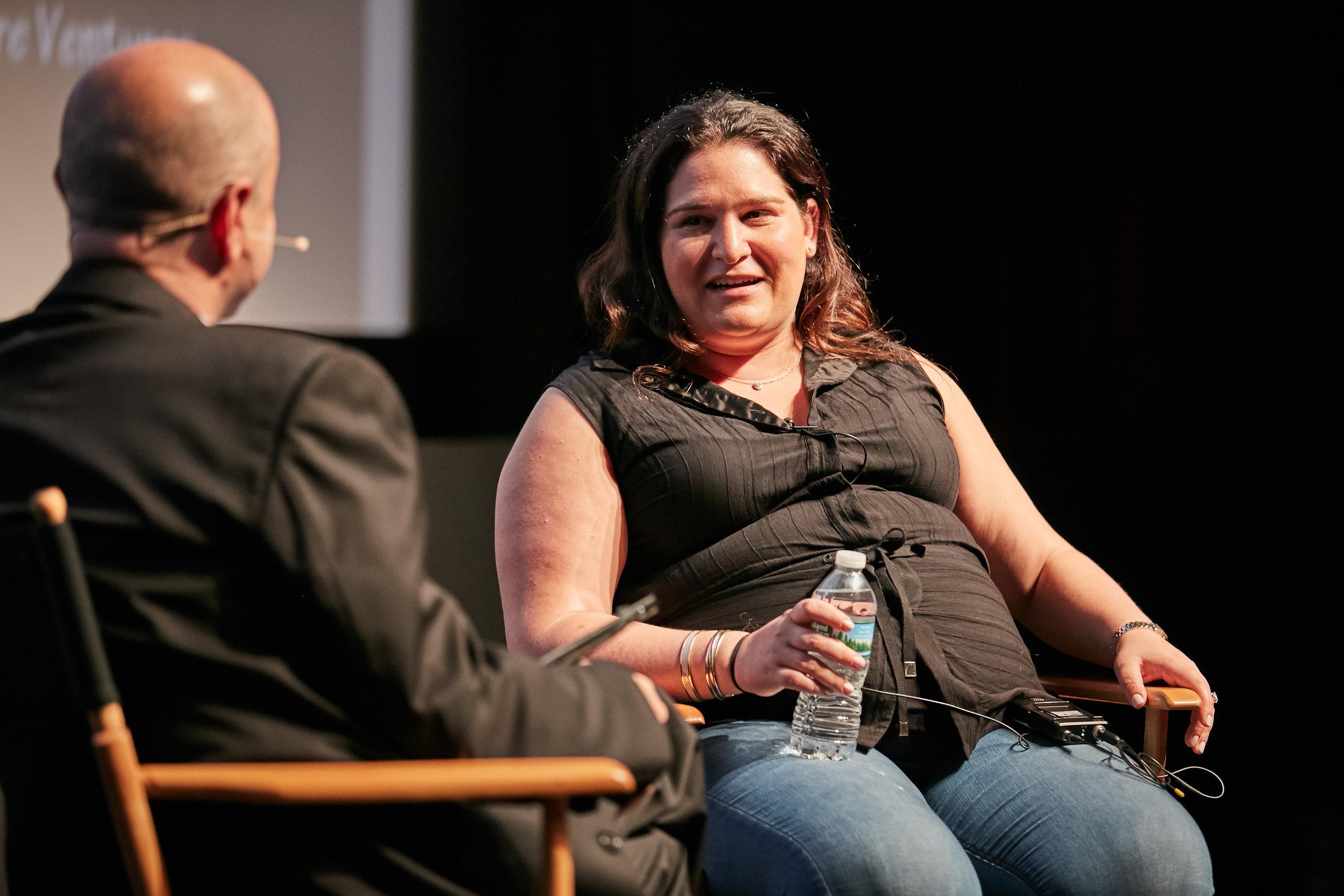 Fireside Chat Day 1: Rebecca Kaden, Union Square Ventures, Partner ©Robert Wright/LDV Vision Summit 2018