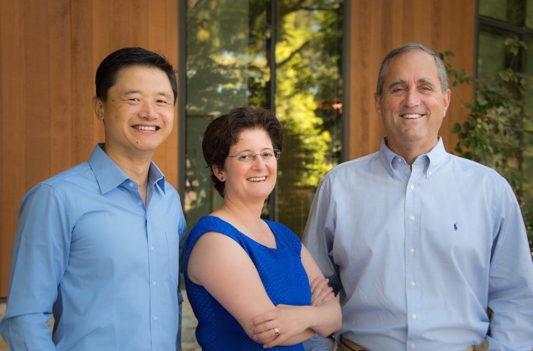 (L to R) Ted Hou, Laura Smoliar, Drew Lanza - Founders of The Berkeley Catalyst Fund