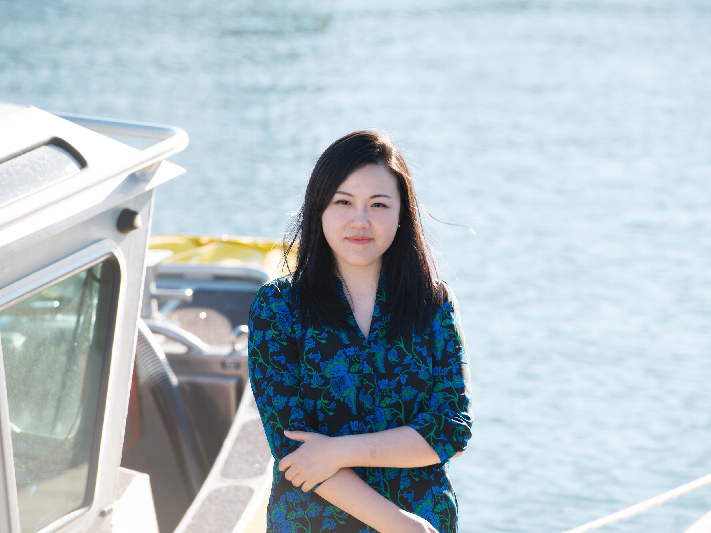 Fiona Hua, Lead Perception Research Scientist at Sea Machines Robotics (courtesy Fiona Hua)
