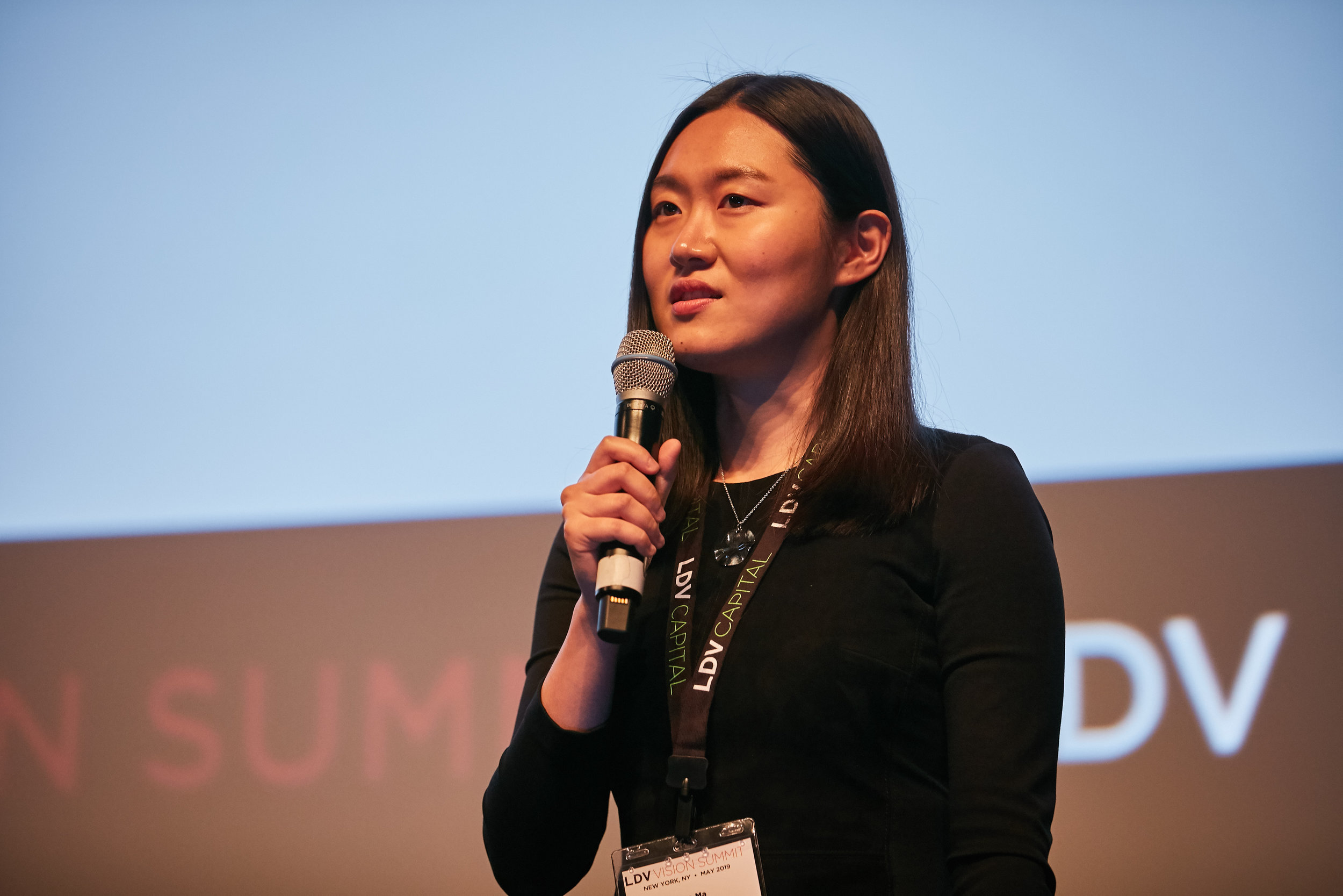 Xiao Ma, Cornell Tech PhD ©Robert Wright/LDV Vision Summit 2019