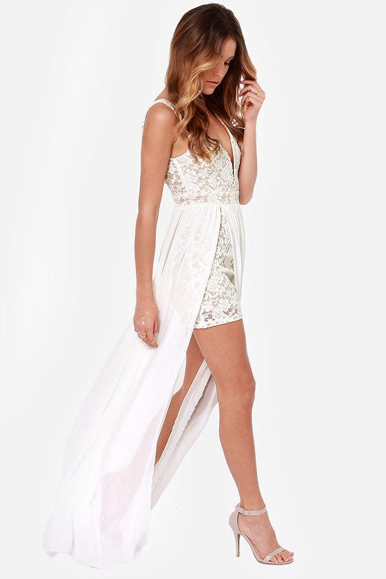 Arc & Co Ivory Dress