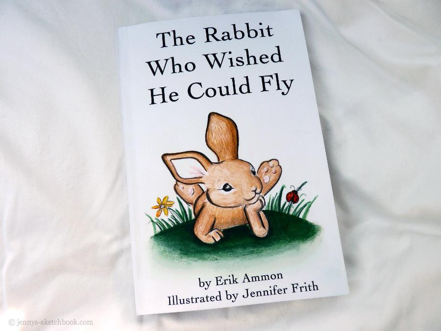 The Rabbit Who Wished He Could Fly - Book 1 in the Adventures of Kona and his Friends. Written by Erik Ammon. Illustrated by Jennifer Frith.