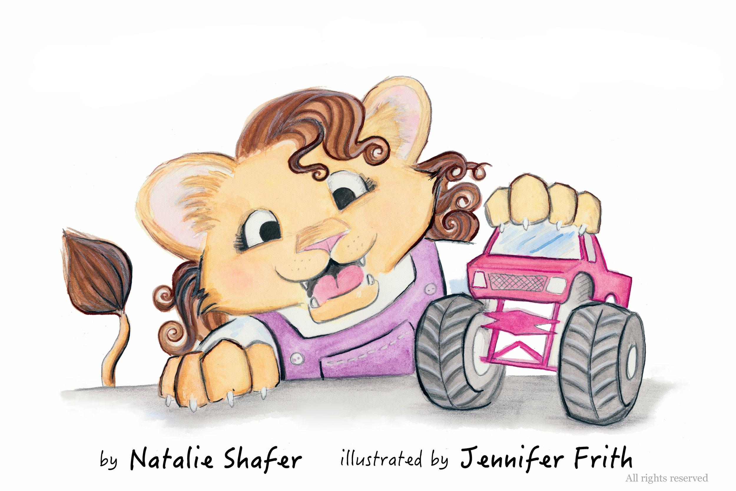 Maggie Likes Monster Trucks - Written by Natalie Shafer. Illustrated by Jennifer Frith.