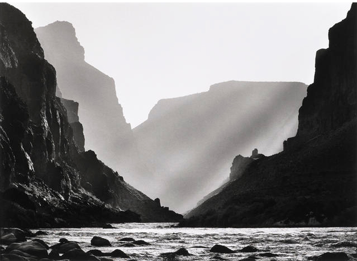 Confluence of the Colorado and Little Colorado Rivers, Arizona, USA, 2010  20 x 24 inches  Gelatin silver print