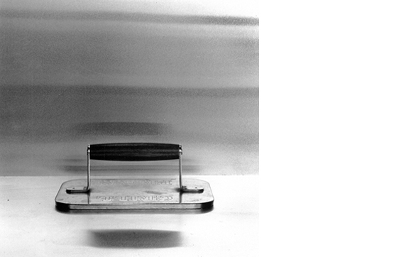 LAURA MINTZ  Untitled (Mise en Place Series), 2013  16 x 16 inches Silver gelatin print