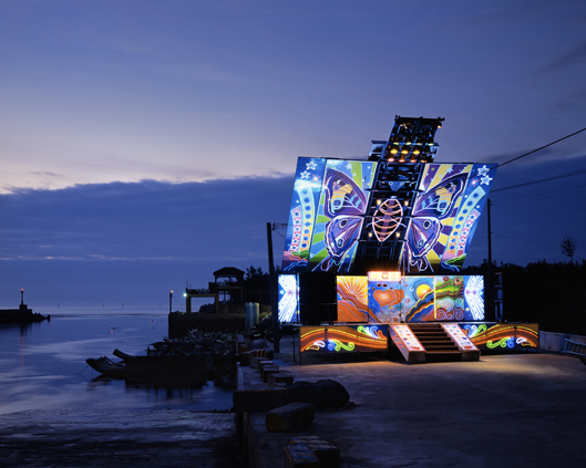 Stage 7, Miaoli County,Taiwan   2010  24 x 30 inches  Lightjet C-print, Edition 6