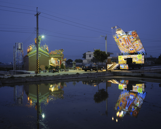Stage 14, Changhua County,Taiwan   2008  24 x 30 inches  Lightjet C-print, Edition 6
