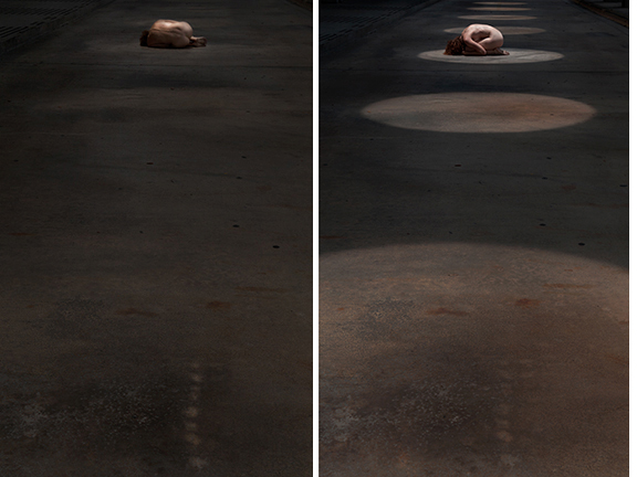 Untitled (diptych), 2013  60 x 40 inches each Edition of 3, Archival pigment prints