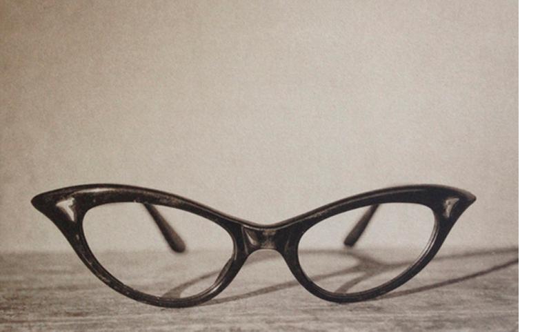 LISA BLAIR  Mar's Glasses  7 x 9.5 inches framed Platinum / Palladium print