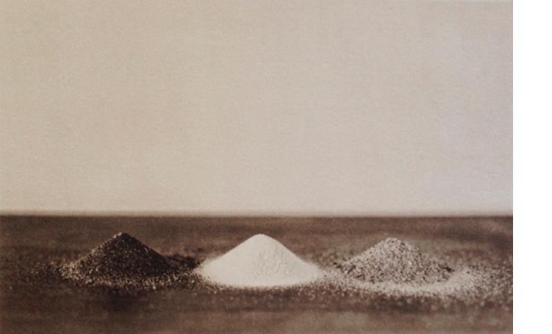 LISA BLAIR  Three Sands, 2013  (Atalaya, White Sands, Glenburnie) 7 x 9.5 inches framed Platinum / Palladium print, edition 5