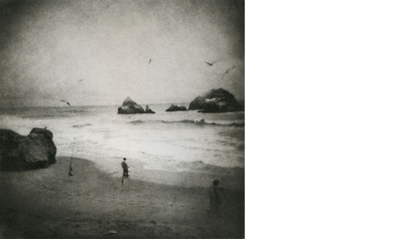 ERIN MALONE  The People of the Coming Days Will Know   5.5 x 5.5 inches  Photogravure, Edition 25