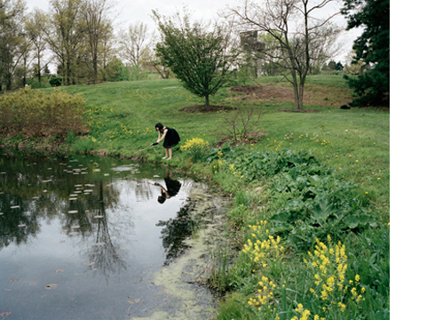 Pond, 2003   30 x 40 inches  Archival pigment print