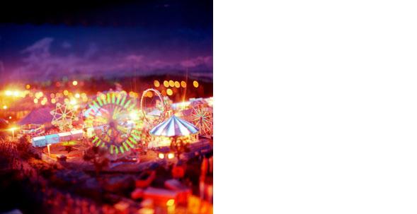 COLLEEN PLUMB  Circus  19 x 19 inches C-print
