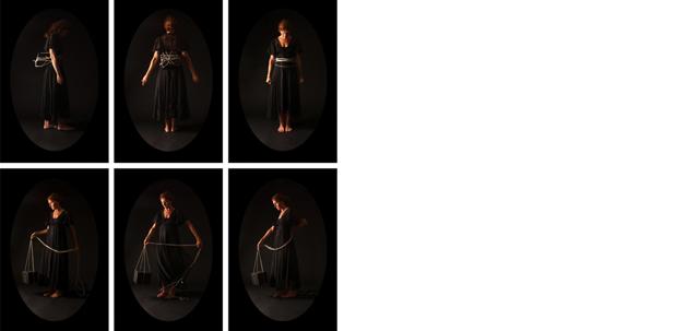 Untitled in Black, 2009  C-prints Variable dimensions