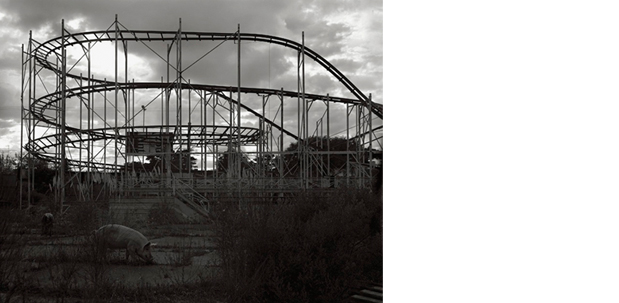 Rollercoaster, 2007  archival pigmented print
